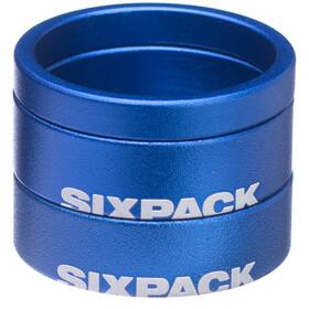 """Sixpack Menace Espaciador 1 1/8"""", azul"""
